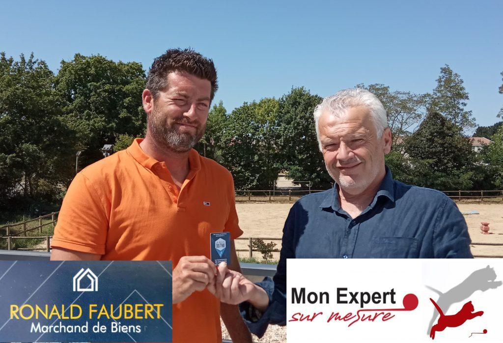 Tout de GO Ronald Faubert passe au bien…pour le meilleur!