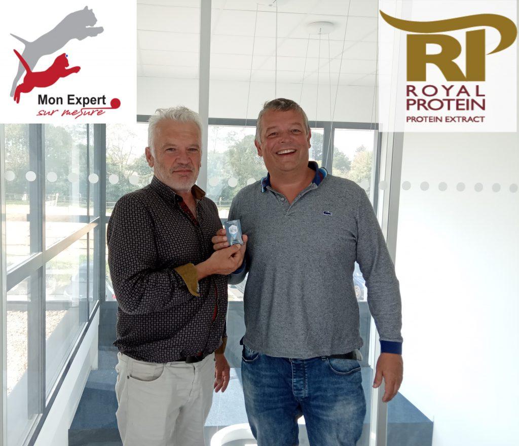 Emmanuel POULAIN donne du peps à la «Protéine Royale»…