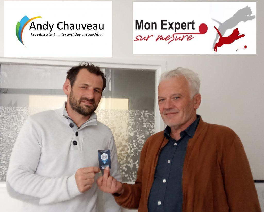 Andy CHAUVEAU «Equipe au Top» marque un hippon