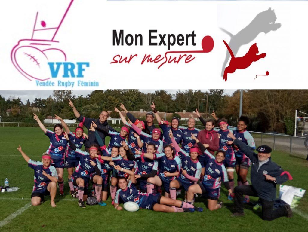 Mon Expert Sur Mesure partenaire du Vendée RUGBY Feminin